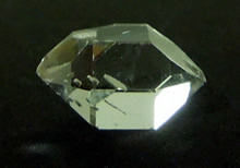 Quartz crystal weighs 4.75 ct.