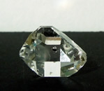 Herkimer Diamond with seed crystal.