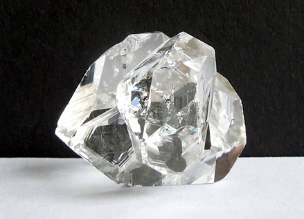 A natural doublet crystal