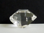 Herkimer with double terminated manifestation crystal