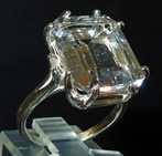 Herkimer Diamond Cocktail Ring