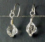 Herkimer Crystal Earrings