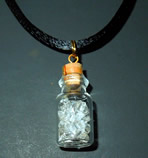 Herkimer Diamond Glass Pendant