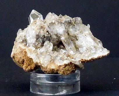 Image of 37.5x22 mm quartz crystal specimen.
